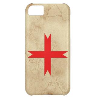 騎士Templarの中世十字 iPhone5Cケース