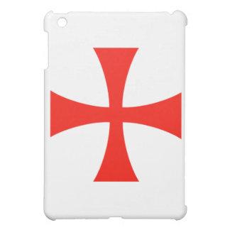 騎士Templarの十字の赤い箱 iPad Mini カバー