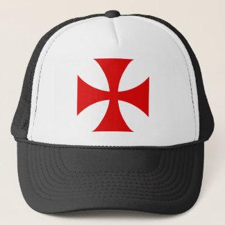 騎士Templarの十字 キャップ