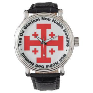 騎士Templarの腕時計 腕時計
