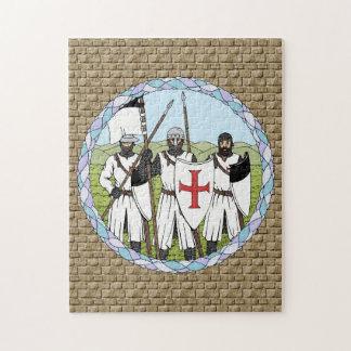 騎士Templar ジグソーパズル