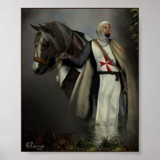 騎士Templar ポスター