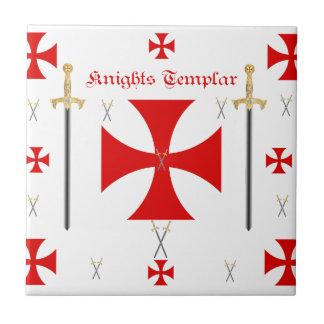 騎士Templar 正方形タイル小