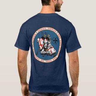 騎士Templar 2の騎士シールのワイシャツV2 Tシャツ
