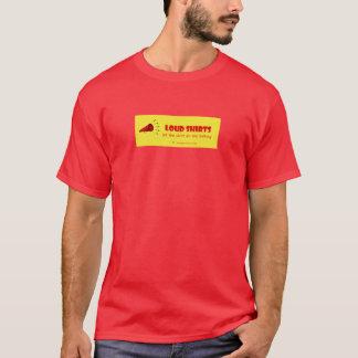 騒々しいワイシャツ-ワイシャツが話すことをするようにして下さい- Mの赤 Tシャツ
