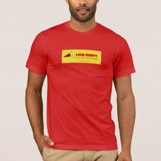 騒々しいワイシャツ-ワイシャツが話すことをするようにして下さい- M red2 Tシャツ