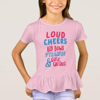 騒々しい応援及び大きい弓 Tシャツ