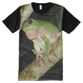 騒々しい生き物 オールオーバープリントT シャツ