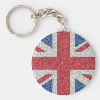 騒々しい英国国旗 キーホルダー