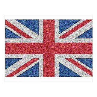 騒々しい英国国旗 ポストカード