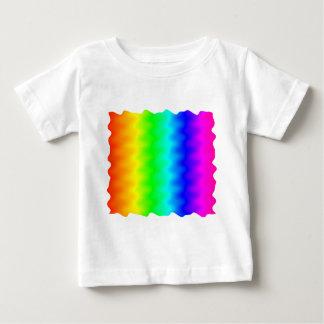 騒々しい虹 ベビーTシャツ