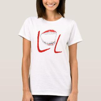 騒々しいLOLの笑い Tシャツ