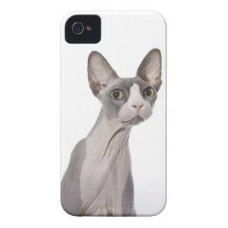 驚かされた表現のSphynx猫 Case-Mate iPhone 4 ケース