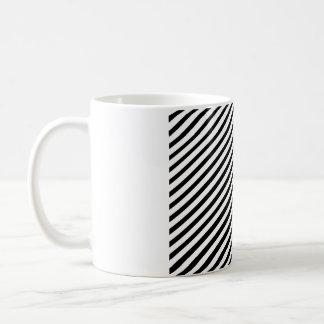 驚かせるストリップ コーヒーマグカップ