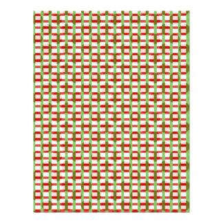 驚かせる点検の正方形: 芸術家はパターンを作成しました レターヘッド