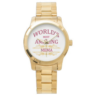 驚かせるMema 腕時計