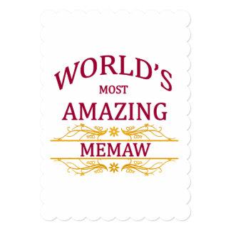 驚かせるMemaw カード