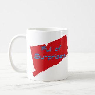 驚きの十分のコネチカット コーヒーマグカップ