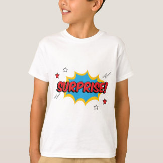 驚きの漫画の表現 Tシャツ