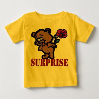 驚き ベビーTシャツ