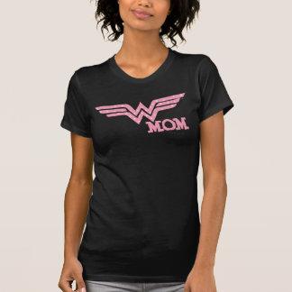 驚異のお母さんのピンク Tシャツ