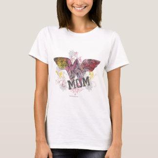 驚異のお母さんの混合メディア Tシャツ
