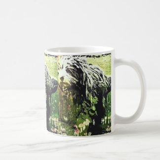 驚異の土地のマグのBeardie コーヒーマグカップ