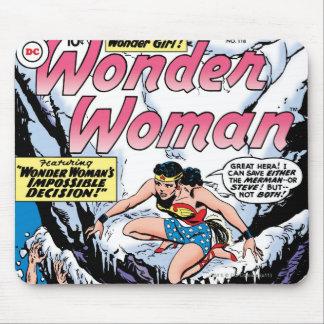 驚異の女の子を特色にしているワンダーウーマン マウスパッド