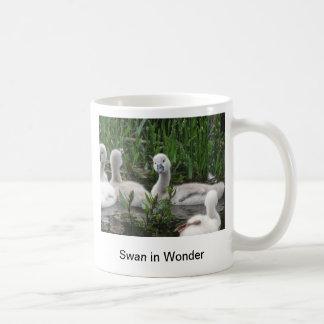 驚異の白鳥 コーヒーマグカップ
