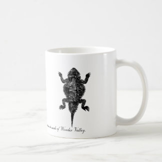 驚異の谷のツノトカゲ コーヒーマグカップ
