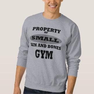 骨と皮の体育館 スウェットシャツ
