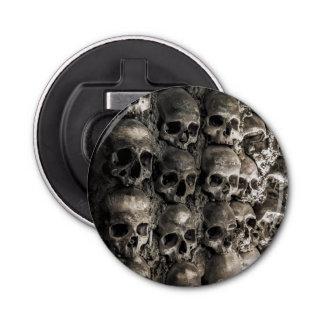 骨のチャペルのスカルそして骨の十分の壁 栓抜き