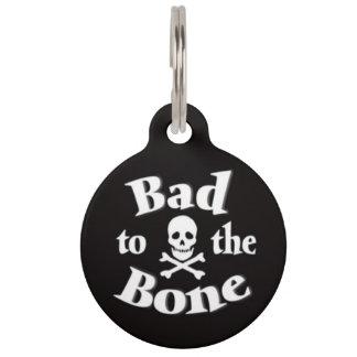骨のペット用名札への悪い状態 ペット ネームプレート