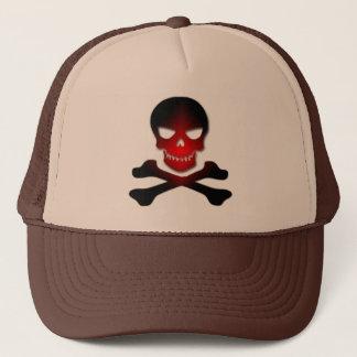 骨の帽子に悪いスカルの骨は設計します キャップ