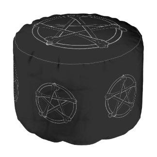 骨の星形五角形 プーフ