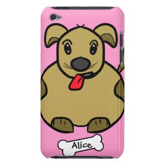 骨の箱を持つ脂肪質犬 Case-Mate iPod TOUCH ケース