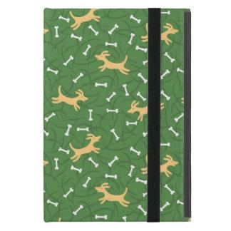 骨の背景を持つ幸運な犬 iPad MINI カバー