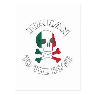骨へのイタリア語 ポストカード