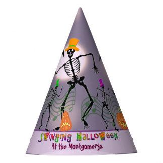 骨ハロウィンによって踊ること パーティーハット