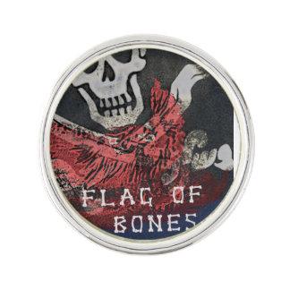 骨昇進Pinの公式の旗 ラペルピン
