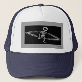骨格サーファーの切断患者の帽子 キャップ
