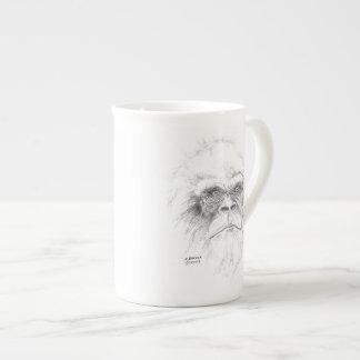 骨灰磁器のサスカッチのコーヒー・マグ ティーカップ