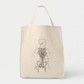 骨組およびコルセット トートバッグ