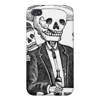 骨組に飲むテキーラおよび煙ること iPhone 4/4S カバー