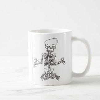 骨組のめい想 コーヒーマグカップ