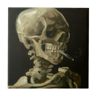 骨組の頭部 タイル