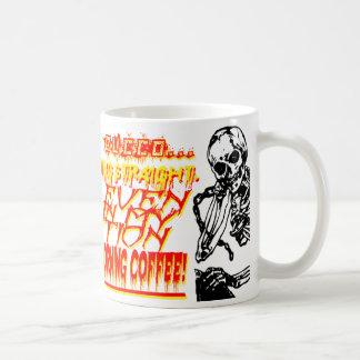 骨組を搭載する積極的な朝のコーヒー・マグ コーヒーマグカップ