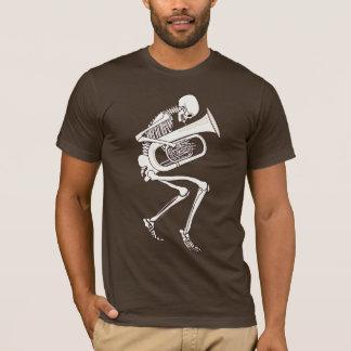 骨組を遊ぶテューバ Tシャツ