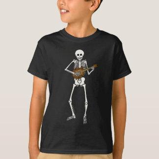 骨組を遊ぶマンドリン Tシャツ
