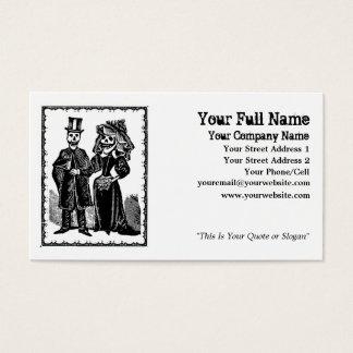 骨組カップル-名刺(カスタマイズ) 名刺